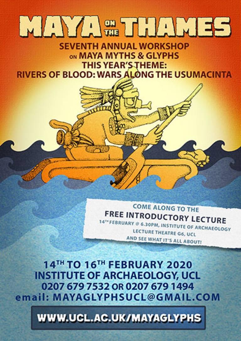 Maya on the Thames 2020 (flyer)