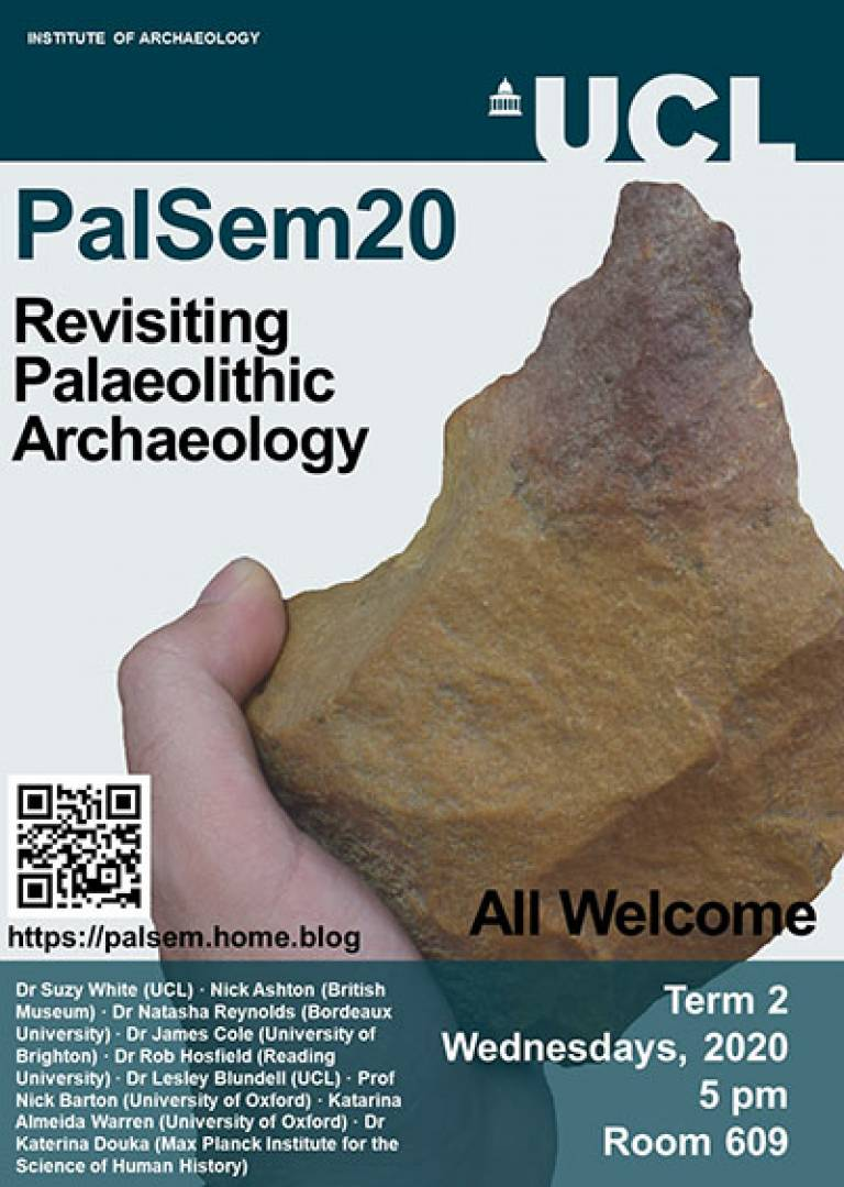 Revisiting Palaeolithic Archaeology seminar series