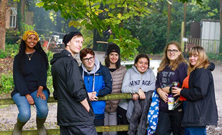 UCL Institute of Archaeology undergraduate students