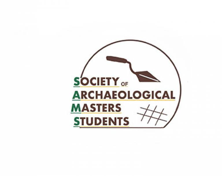 Society of Archaeological Masters Students (SAMS) logo