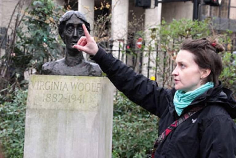 Women of Bloomsbury walk (Image: © Lisa Daniel)