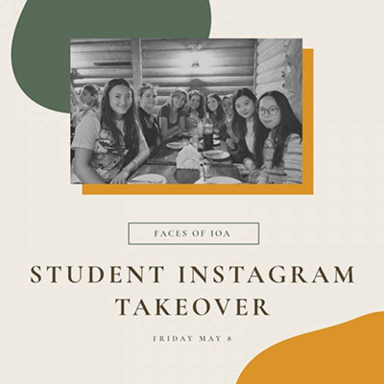 UCL Institute of Archaeology Instagram Student Takeover by Coco Shi (8 May 2020)