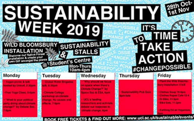 UCL Sustainability Week 2019