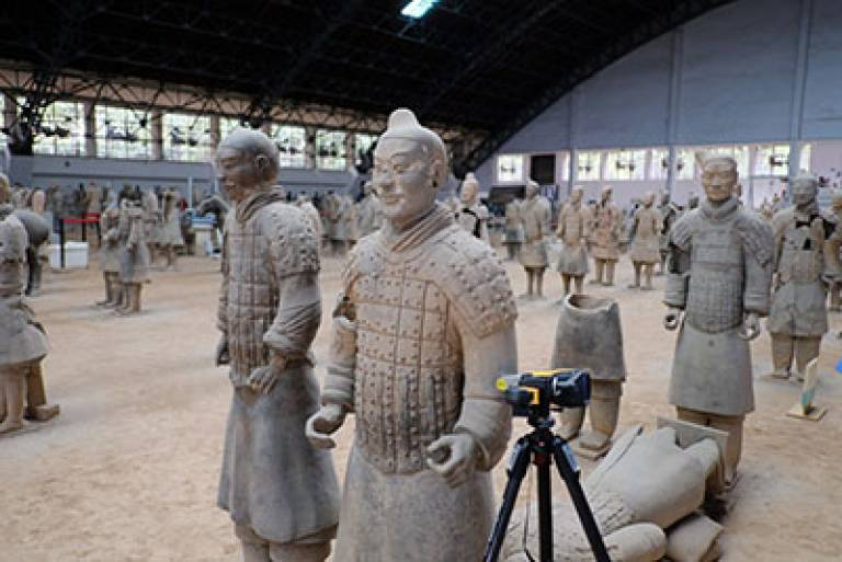 Research on geochemical profiling of the Terracotta Army