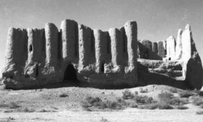 The east face of the Little Kyz Kala in 1954
