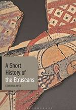 A Short History of the Etruscans by Corinna Riva, Bloomsbury 2020 (bookcover)