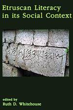 Etruscan Literacy in its Social Context 2020 (Accordia) - bookcover