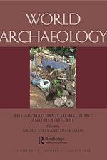 World Archaeology Special Issue 2018 (Routledge) - cover