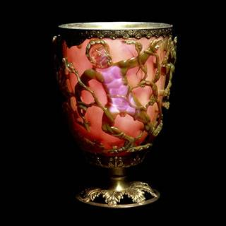 Lycurgus Cup (Image courtesy of the Trustees of the British Museum)