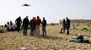 Training in the use of UAV