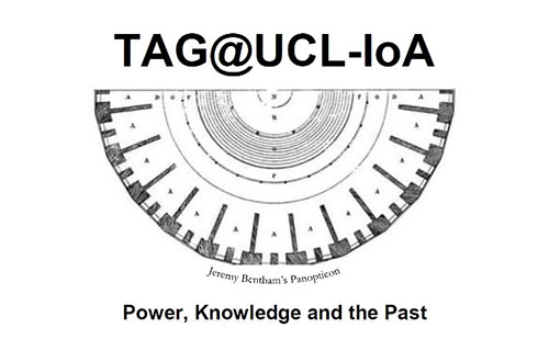 TAG2019 conference is being held at UCL in December