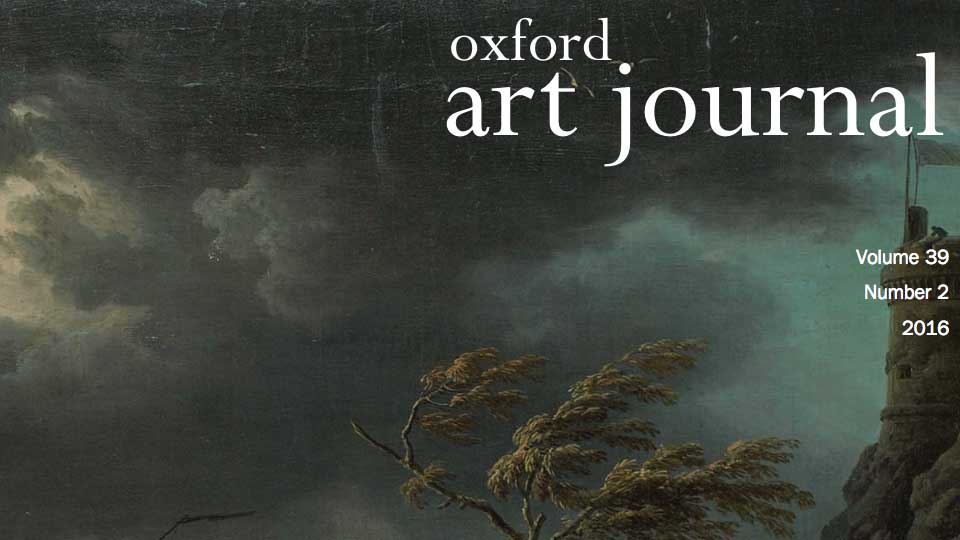 Oxford Art Journal Volume 39 Number 2