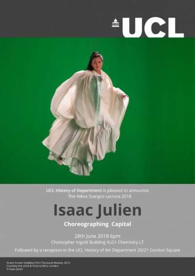 Nikos Stangos Lecture 2018 - Isaac Julien