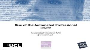 Rise of the Automated Professional - thumbnail