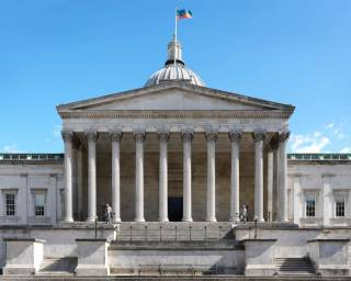 Photo of UCL Portico, Wilkins Building