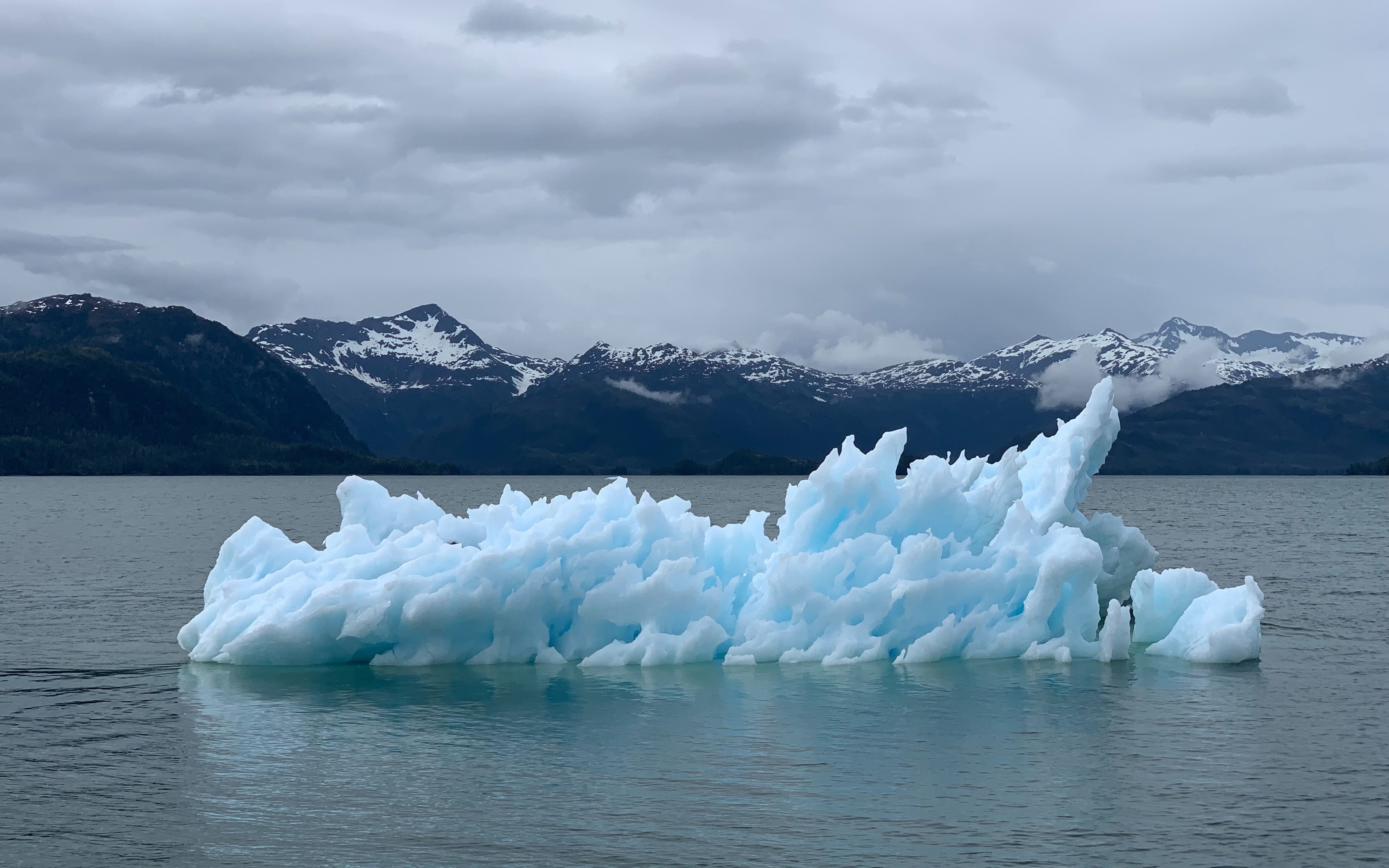 Climate, iceberg in sea