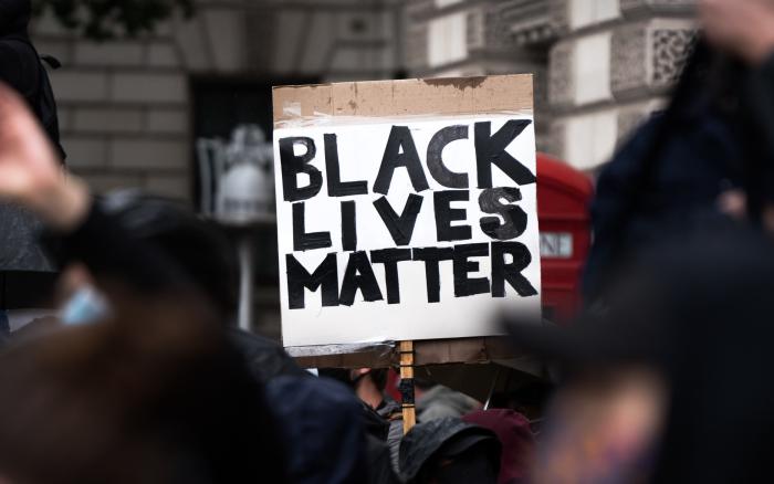 Black Lives Matters placard