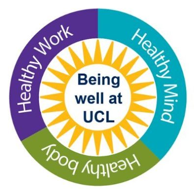 be well at ucl logo