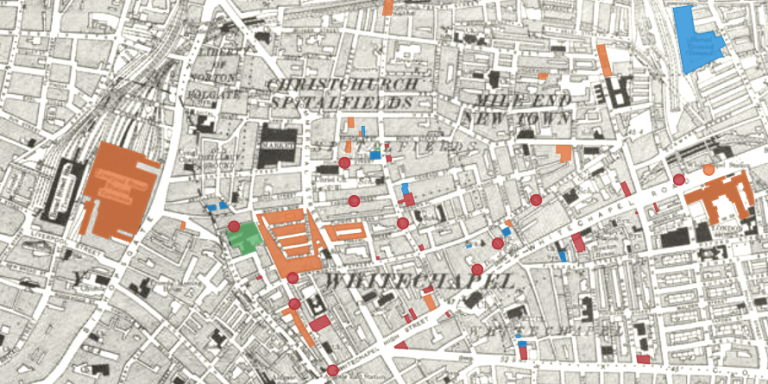 Map preview image (East London)