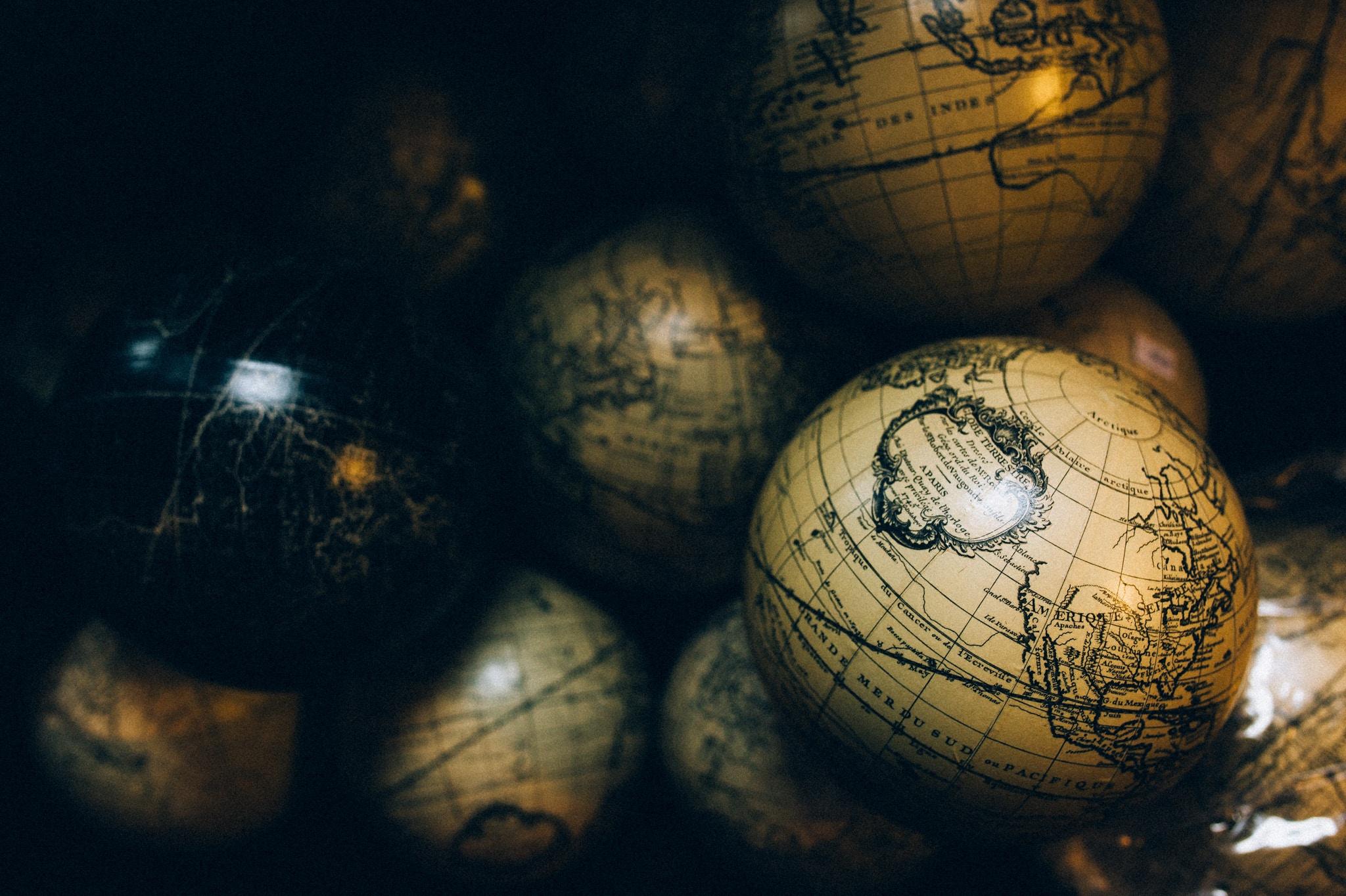 Study Abroad Globes
