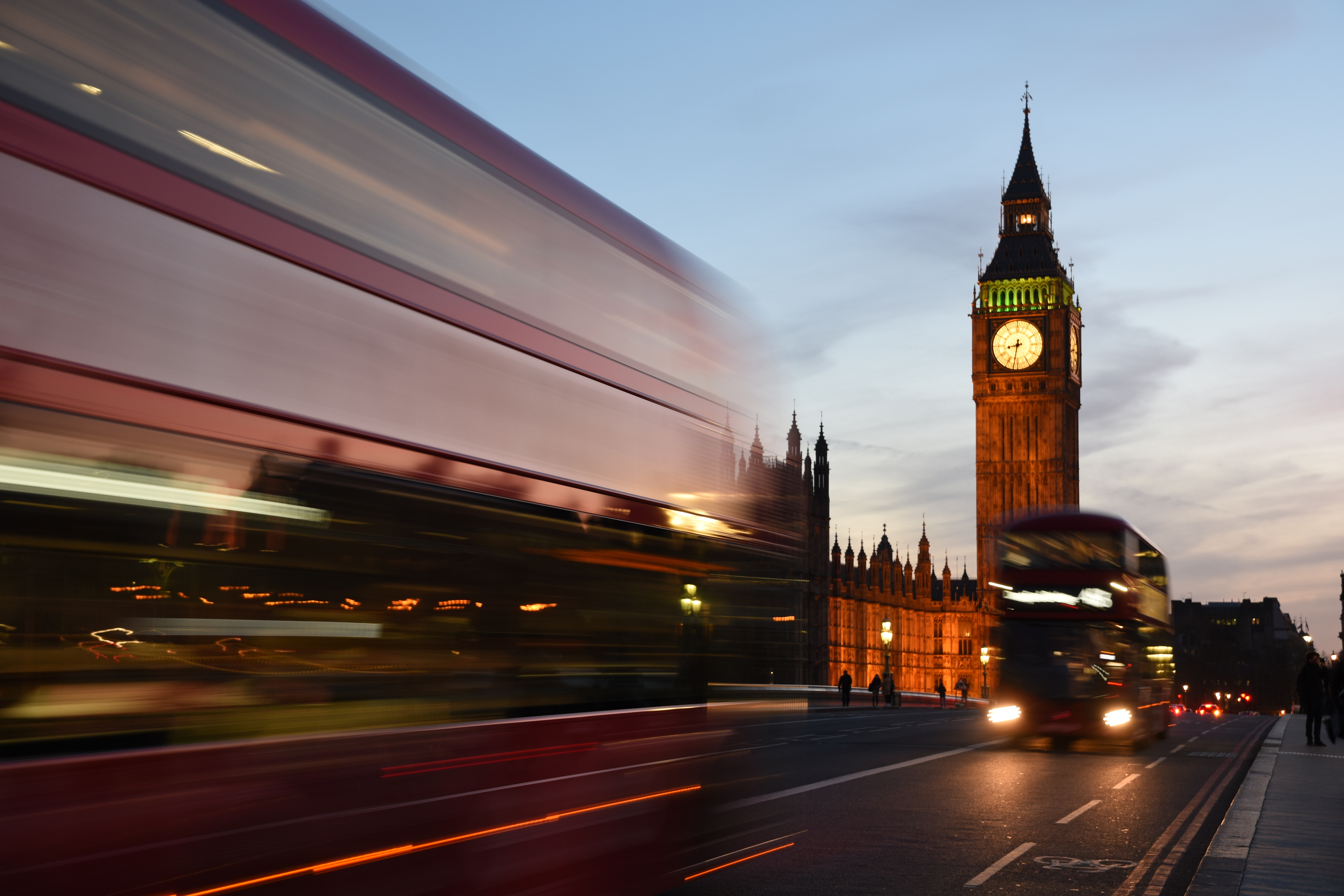 Houses of Parliament Blur