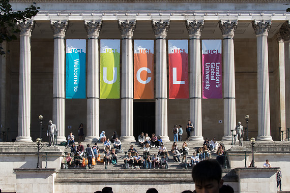 UCL Welcome Banners