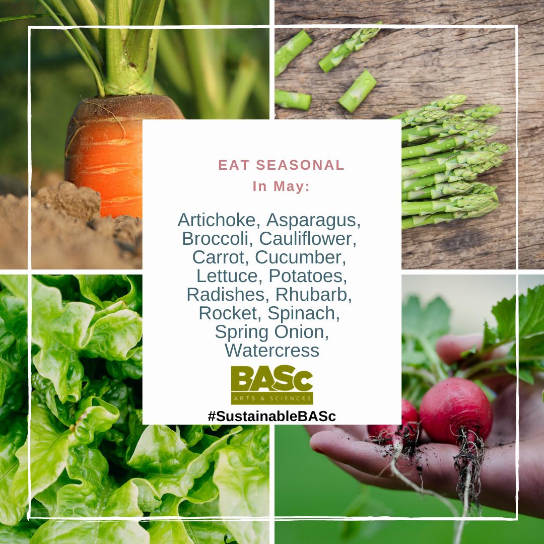 foods to eat seasonal in May