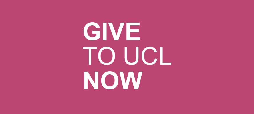 Donate to UCL button…