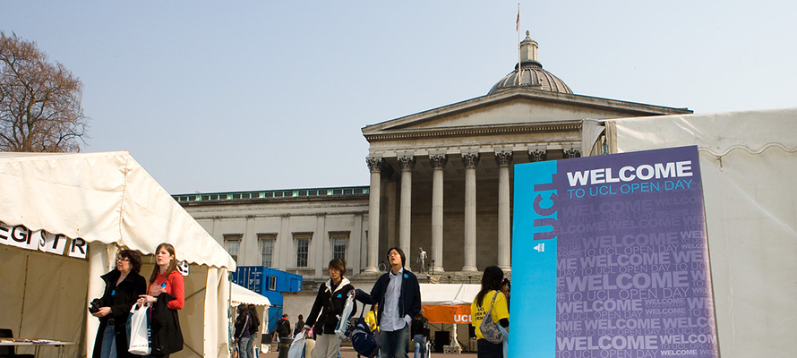 UCL Open Day…