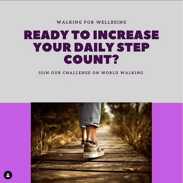 Increasing your daily step count