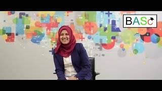 BASc alumna Zohra