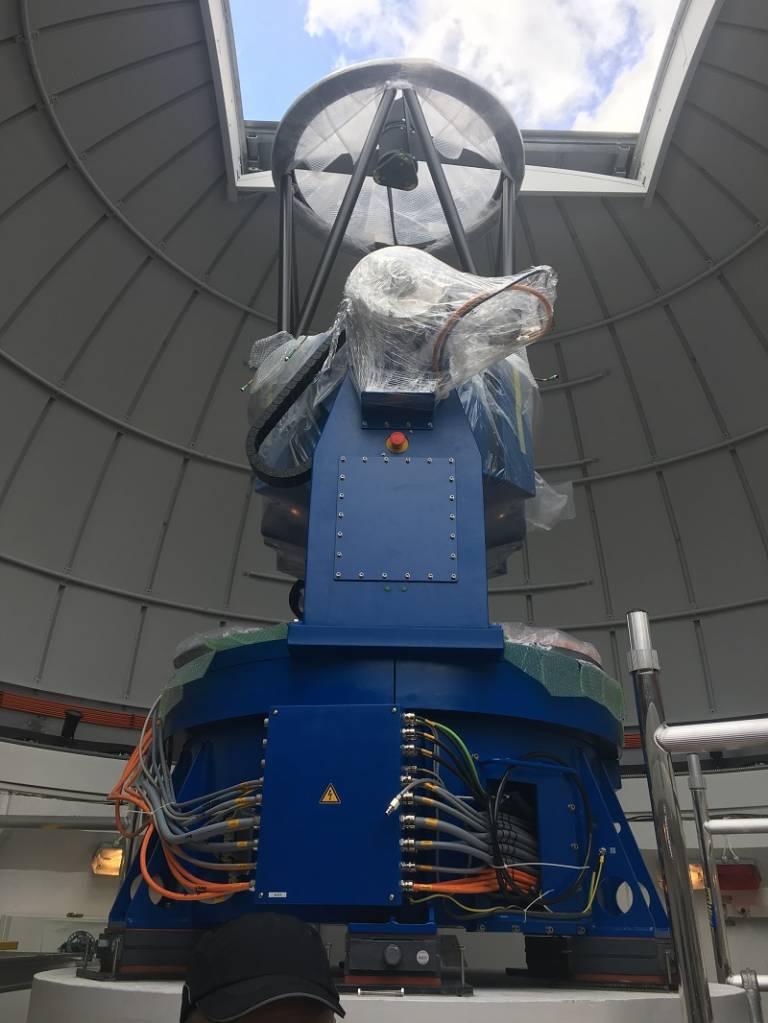 New 80cm telescope