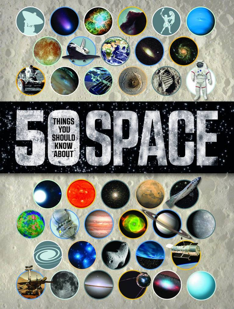 50 Things you should know about space book cover