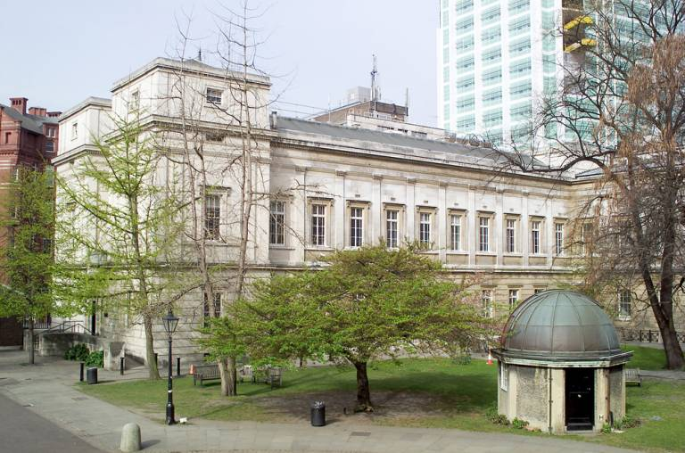 The front quad and Pearson Building, © UCL Media Services - University College London