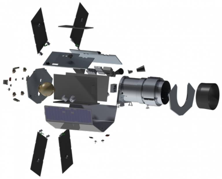 TWINKLE exploded view