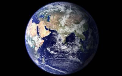 Earth, credit NASA