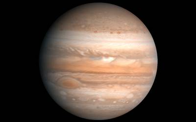 Jupiter seen from Voyager, credit NASA