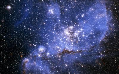 Star-forming Nebula - NGC 346, credit ESA/Hubble