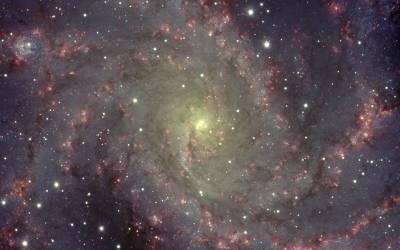 NGC 6946: The Fireworks Galaxy, Credit & Copyright: T. Rector (U. Alaska Anchorage), Gemini Obs., AURA