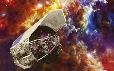 Herschel's Cool Universe (Artist's Concept), Image credit: ESA /C. Carreau