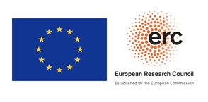 EU flag and ERC logo