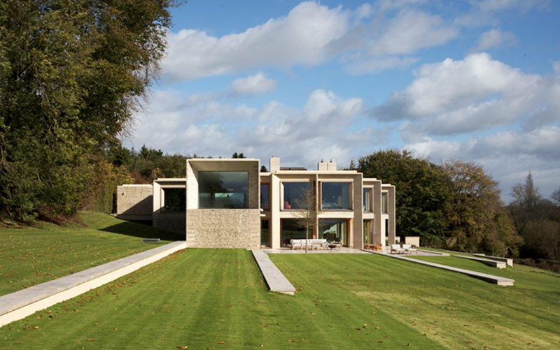Hampshire House by Niall McLaughlin Architects. Photography by Nick Kane