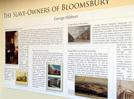 Slave Owners of Bloomsbury