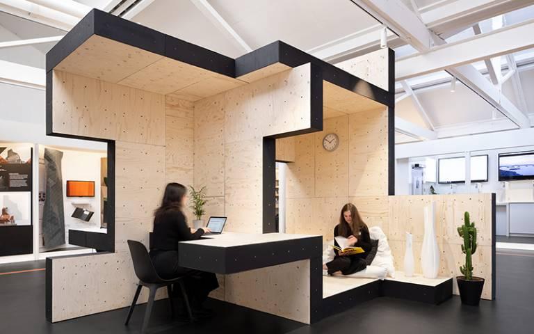 Home-Office, AUAR/Design Computation Lab, The Building Centre, 2019 © NAARO