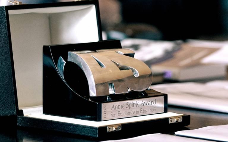 The RIBA Annie Spink Award Trophy