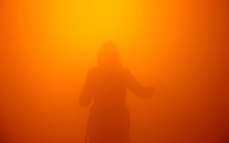 Your Blind Passenger, Studio Olafur Eliasson at Tate Modern, Photograph by Busra Berber.