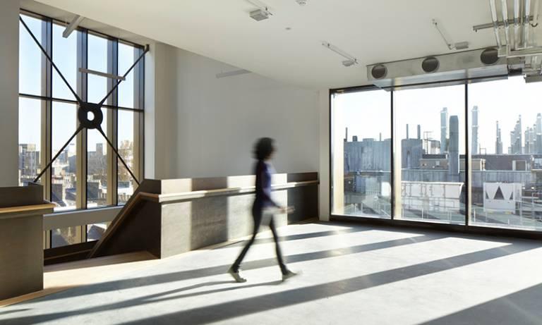 The sixth floor of The Bartlett