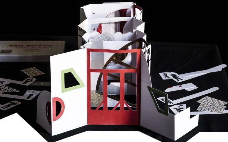 Sala Beckett Teatre de Paper by Adrià Goula.