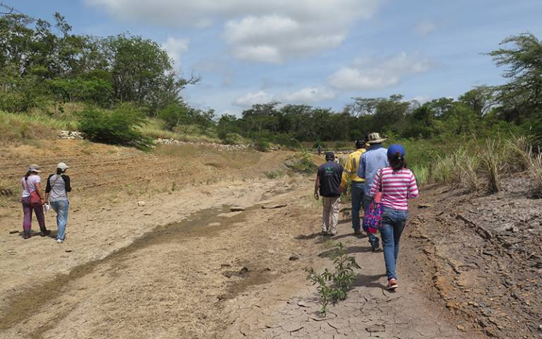 International Solidarity Exchange. River Bruno in La Guajira and Meeting with the Durham Miners Association.