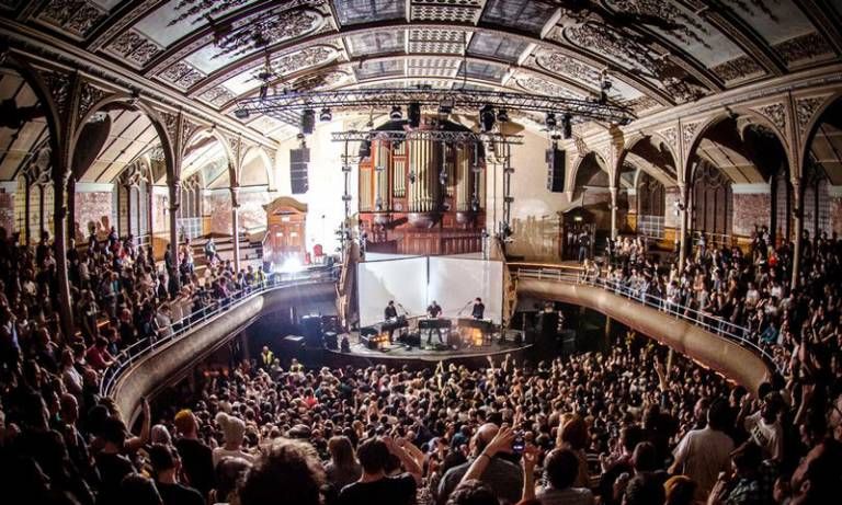 Live concert in an old theatre: image for Sound Making Space event on 11 May 2017